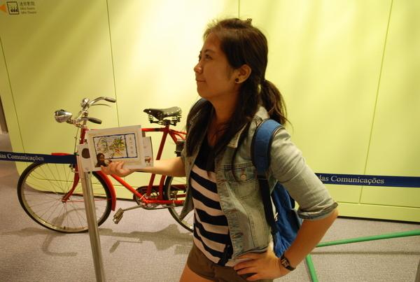 腳踏車有POSE,我也要!