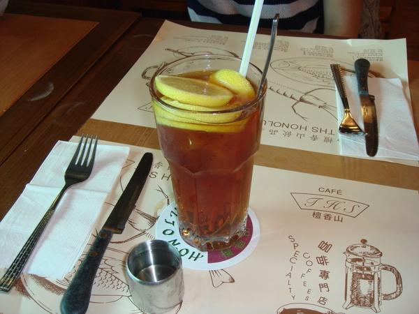檀香山咖啡的檸檬紅茶