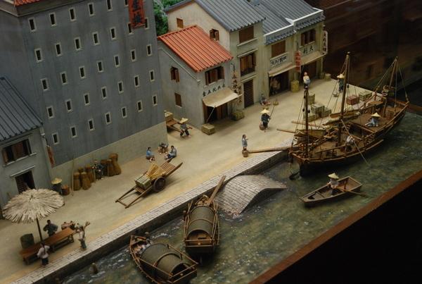 老澳門的港口貿易