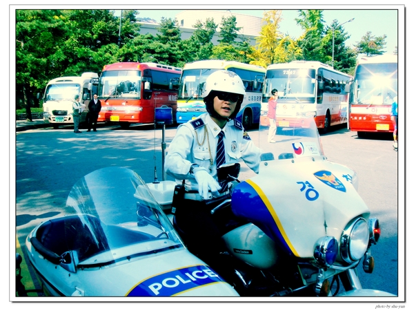 韓國的警察叔叔