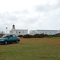 遠看漁翁島燈塔