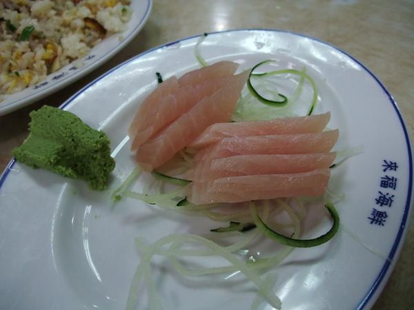 來福海鮮餐廳(價錢實惠又好吃,推薦!) - 鮪魚生魚片