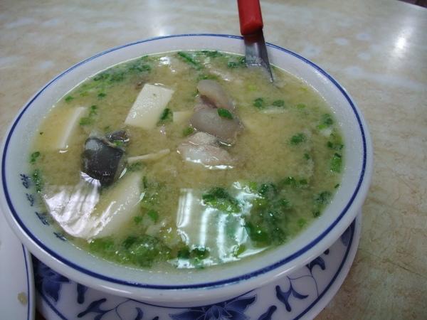 來福海鮮餐廳(價錢實惠又好吃,推薦!) - 味噌鮮魚湯