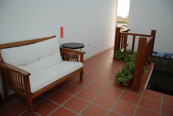 夏灩民宿 - 二樓的休憩區