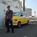 夏灩的車也是黃色的喔,很可愛!