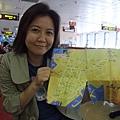 陪伴我們三天兩夜的旅遊地圖