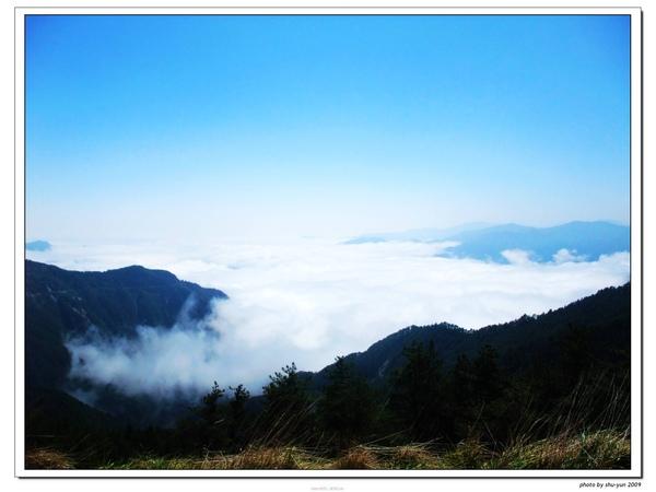 南橫至高點 啞口的雲海
