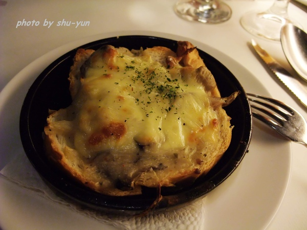 前菜/法式牛肉焗麵包