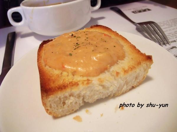 達文郡餐前麵包 - 蝦醬麵包