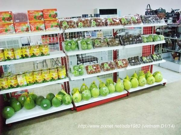 越南國內線機場裡的販賣部