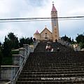 建於1942年哥德式教堂/大叻最有名的教堂