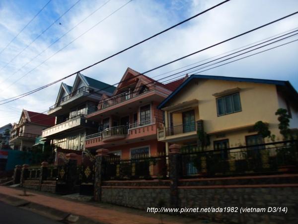 大叻市區的房子