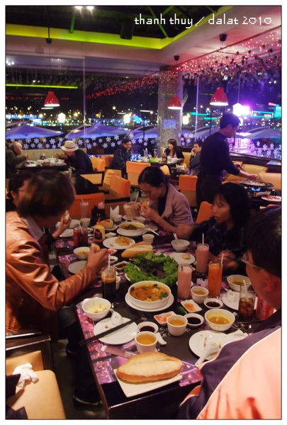 dinner in thanh thuy