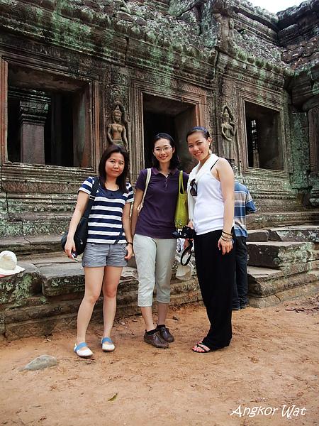 在柬埔寨遇到越南女孩 Vicky
