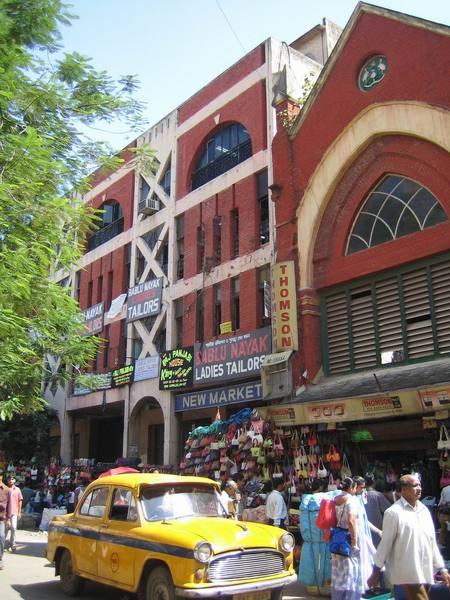 加爾各答大街上