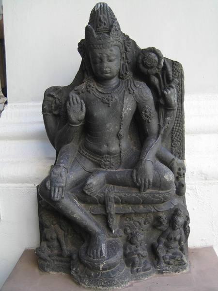 印度博物館的觀世音菩薩像
