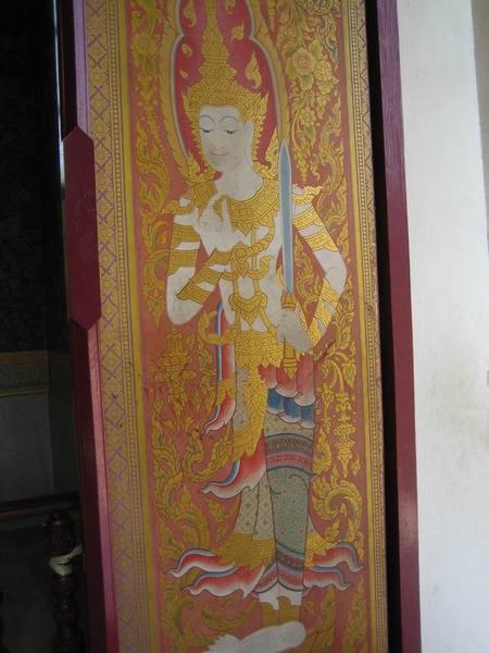 泰國僧院的門神