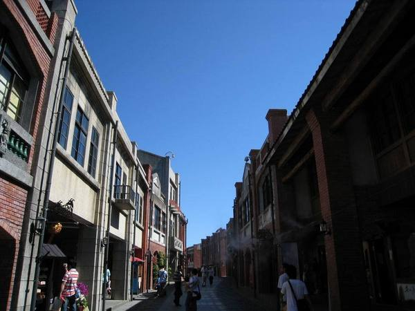 傳藝中心老街一景