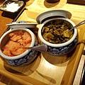 明太子跟醬菜