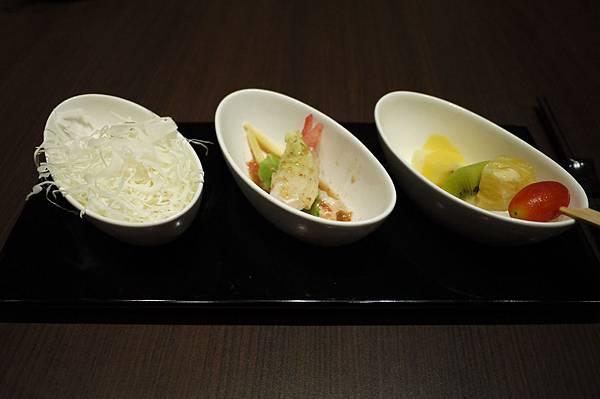 前菜+高麗菜絲