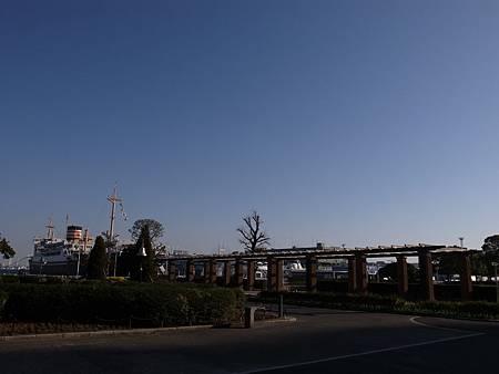 橫濱靠近港口