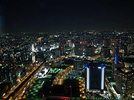 夜晚的橫濱真的很漂亮