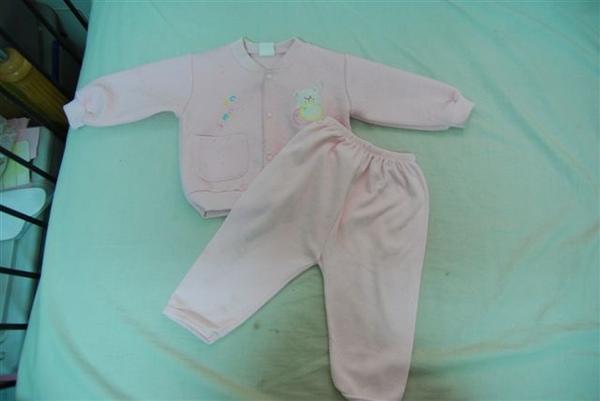 粉紅外套+長褲(10元)