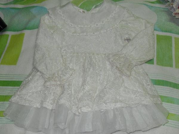 (o)小花童/小伴娘/小新娘衣服(一件長的,一件短的)圖一
