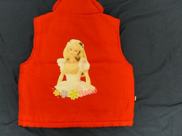 (n)雙面穿的鋪棉背心(約2~3才女童可穿)圖二