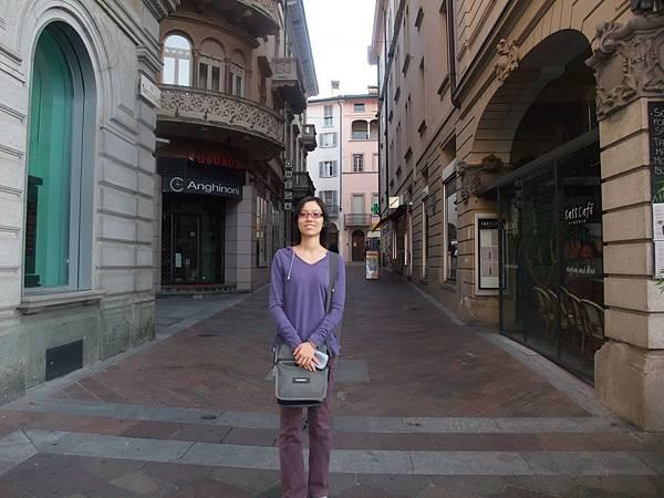 盧加諾的街道