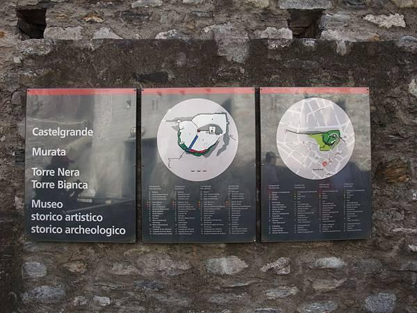 古堡位置圖