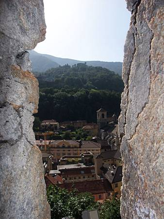 古堡外的景色