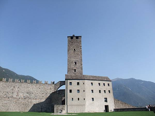 古堡最頂端