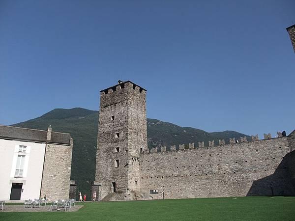 古堡的景色