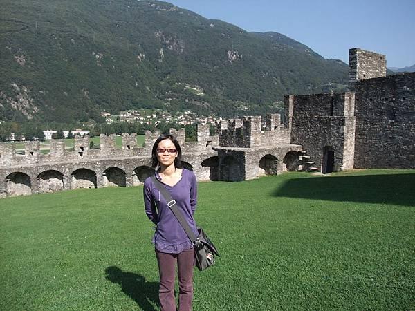 古堡的城牆