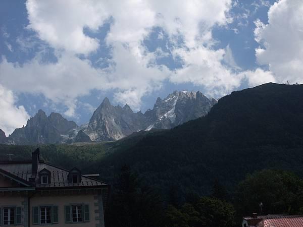 美麗的山峰