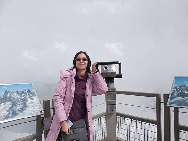 南針峰上的望遠鏡