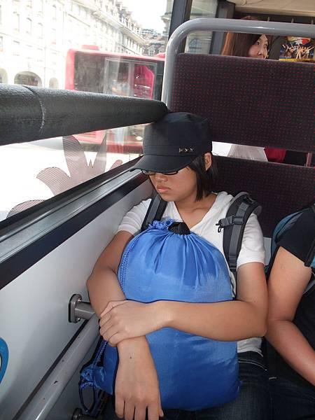 累壞了的譚小妹