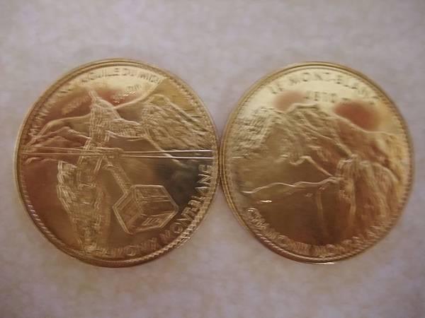 白朗峰紀念幣