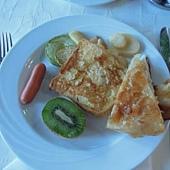 飯店內早餐2