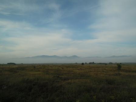 前往十六胡國家公園的途中