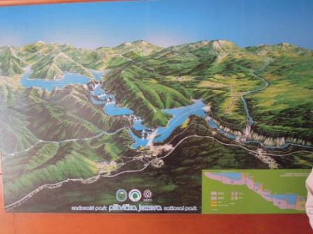 十六胡國家公園的地圖