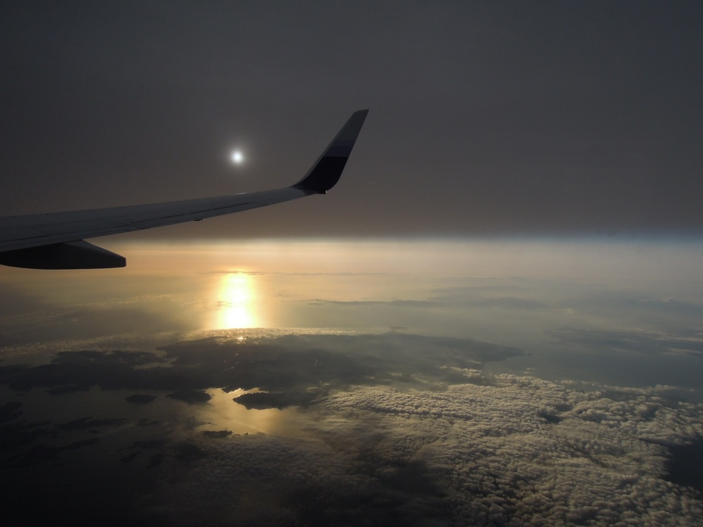 飛機外景色