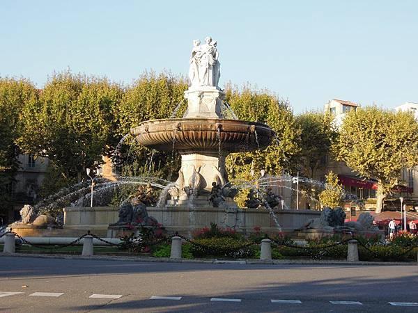 艾克斯普羅旺斯噴泉
