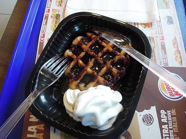 Burger King鬆餅.JPG
