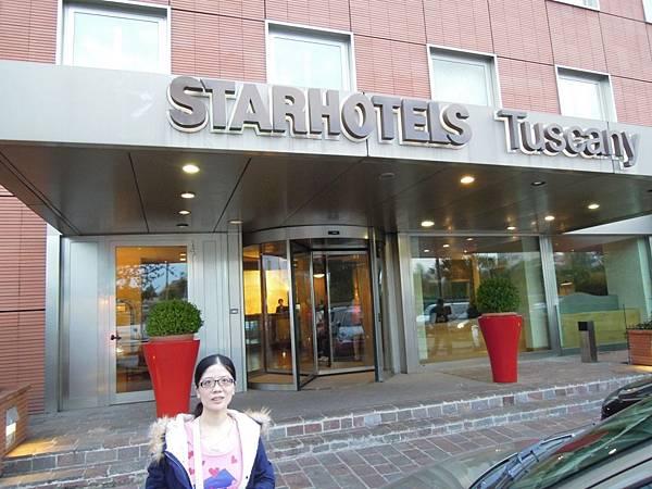 STARHOTELS TUSCANY飯店.JPG