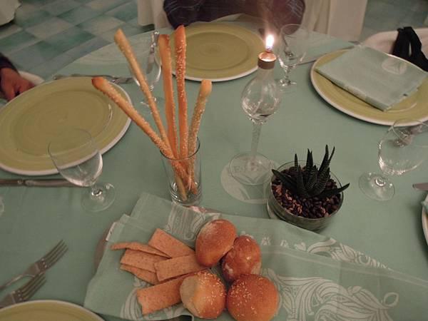 波西塔諾LE AGAVI飯店晚餐餐點.JPG
