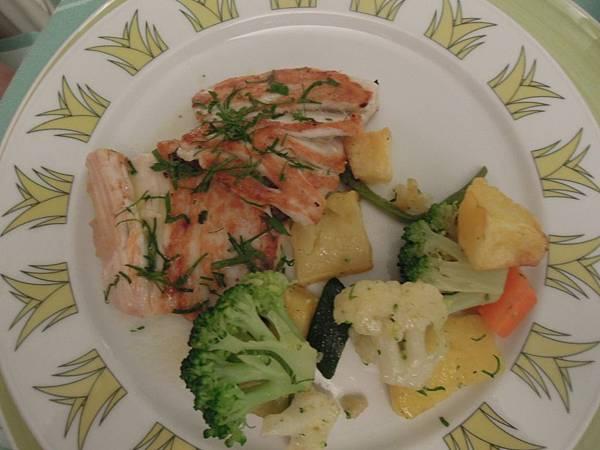 波西塔諾LE AGAVI飯店晚餐餐點 (4).JPG