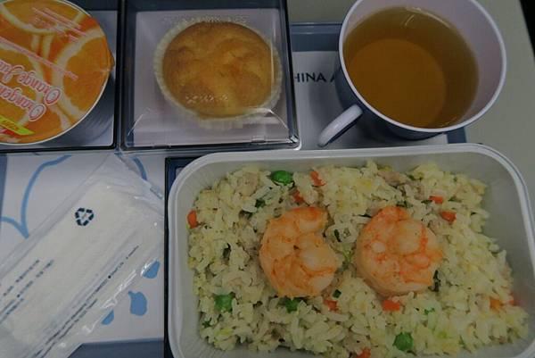 飛機飛往曼谷的飛機餐11.JPG