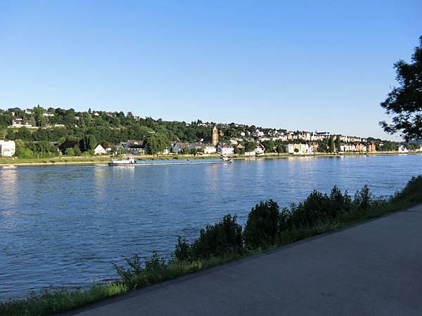 Mercure Hotel Koblenz外之萊茵河畔 (2).JPG